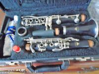 Noblet LeBlanc Paris Clarinet Model 40, Very Good Condition, with Hard Case
