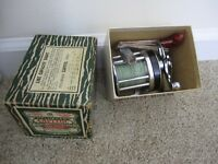 Pflueger Capital Model #1985 Surf Casting Reel with Box Tools Paperwork