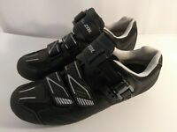ZOL Road Cycling Spinning Athletic Shoes  SZ 7.5 US 40 EU Black Gray