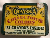1991 CRAYOLA COLLECTOR'S LIMITED EDITION TIN WITH 72 CRAYONS - FACTORY SEALED