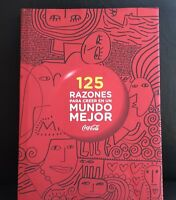 Rare COCA-COLA Mexico Advertising Promotional Coffee Table Art Book 125 Reasons