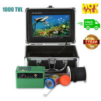 1000TVL HD Underwater 30 LED Fish Finder Fishing Camera 7'' Color Video Monitor