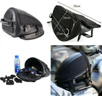 Motorcycle Accessories Rear Tail Waterproof Luggage Tail Bag Saddle bag US SHIP