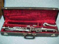 Vintage Buescher Resonite Alto Clarinet in Good Playing Condition.