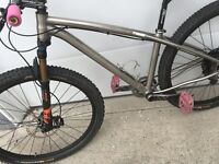 Cycling Any Time | Titanium 29er Review