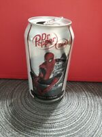 Spider man Diet Dr Pepper Can London England 2019