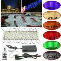 10~100ft 5054 SMD 6 LED Module Light Store Front Window Sign Waterproof Lamp KIT