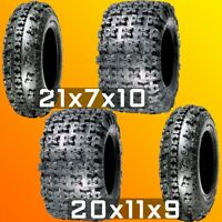 New - ATV Racing Tires - GPS Gravity 648 21x7-10 Front, 655 20x11-9 Rear 6-Ply