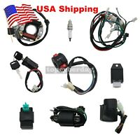 Wiring Harness CDI Assembly Kit Black for ATV Electric QUAD 50 70 90 110CC #US