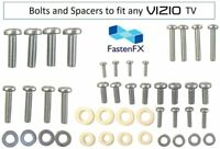 Full set of Vizio TV Mounting Bolts Screws and Washers Fits any size TV $5.95