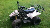 YOUTH ATV Quad 110cc PARTS OR REBUILD AS IS