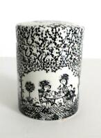 Tea Canister by Nymolle Pottery, Nymolle Denmark  - Signed Bjorn Wiinblad