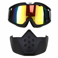 Motorbike Ski Anti-Dust Wind Moto Goggles Mask MX ATV MTB Eyewear Glasses  F7J9