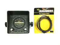 Humminbird Depth Sounder Super Thirty II Used As Is With Extension Cable EC-3