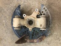 2008 yamaha grizzly 700 esp Left rear knuckle spindle