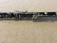 Liberty by Selmer Clarinet. No jammed or broken keys.Leather ligature