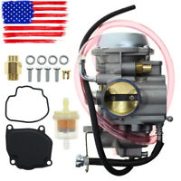 New Carburetor for Suzuki LT-F500F Quadrunner 500 Carb 4X4 1998-2002 Polished