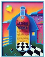 Absolut 26 x 40 INDIANA Statehood Lithograph Poster Printer's Private Collection