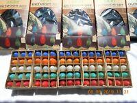Vintage Outdoor Holiday Lights Holy-Lites C-9 15 Multicolor Set five boxes
