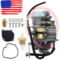New Carburetor for Suzuki Quadrunner 500 Carb 4X4 1998-2002 Polished LT-F500F
