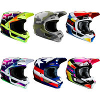 Fox Racing 2020 Adult V1 SE Helmets Motocross MX ATV SxS Off Road Dirt MVRS NEW