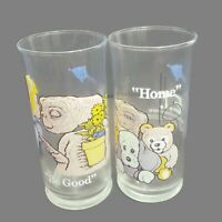 Set Of 2 VTG 1982 Pizza Hut Limited Edition ET Home/Be Good Collectors Glasses