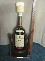 RARE SEAGRAM'S VO CANADIAN WHISKY 1969 LG 1 gallon BOTTLE, TILT/POUR RACK- EMPTY