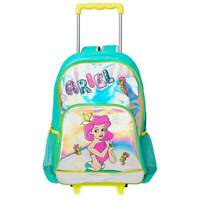 NWT Disney Store Ariel Rolling Backpack LuggageCarry-On Suitcase school