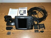 Humminbird 787c2 GPS Chartplotter/Fishfinder Head Unit, Transducer and cables