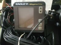 Eagle MagnaView Lowrance Fish Finder