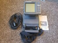 Lowrance X91 Sonar Fish Finder with Transducer
