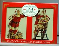 Coca-Cola Playing Cards 1994. Christmas Issue vintage Coca - Cola Playing Cards