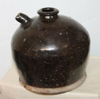 ANTIQUE SOUTHERN POTTERY SPOUTED JUG 5 1/2''