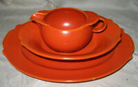 Paden City CALIENTE Scroll Orange 12