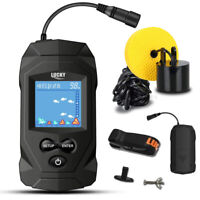 NEW Lucky Portable Fishfinder/Fish Finder with Wired Transducer Depth Finder Kit