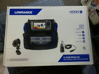 Lowrance  Hook 2 4X All Season Portable Pack Fishfinder NEW Fishing Echo Sounder