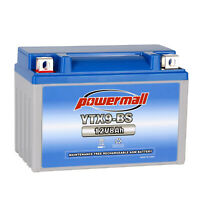 Powermall YTX9-BS Motorcycle Battery AGM ETX9 BS For Honda 400ex Batteries