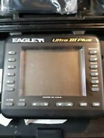 Eagle Electronics Ultra III Portable Fish Finder With 3 Transducers Working