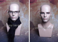 Realistic Male Mannequin Head For Wig And Sunglasses Display Free Shipping 02