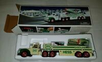 2012 Hess Toy Truck and Airplane - [UPC 729071020020] - w/ box. Used w/ defect
