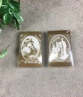 Coca Cola Playing Cards Vintage Lot Of 2 NEW