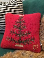 Chandler 4 Corners Feather Tree Pillow Laura Megroz 2009 Christmas Holiday 14in