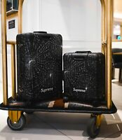 Set Of 2 Supreme Rimowa Suitcases Check In L And 45 Cabin Plus FW 19 SOLD OUT