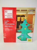 Inflatable Outdoor Christmas Decorations 3.5 Ft LED Lighted Christmas Tree