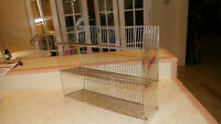 Vintage LANCE Snack Rack Store Display Shelf  Metal Wire Advertisement