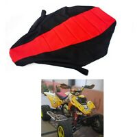 ATV Quad Gripped Gripper Custom Hand Made Seat Cover for Honda TRX 450R 04 - 11