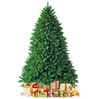 6ft Premium Hinged Artificial Christmas Fir Tree w/1250 Branches Festival Style
