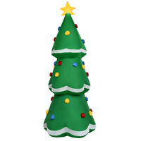 Indoor & Outdoor 10' Inflatable Christmas Tree LED Lighted Giant Waterproof Tree