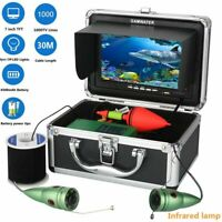 Underwater Fishing Video Camera Kit 1000TVL 6W Ir LED White Led With 7inch Color