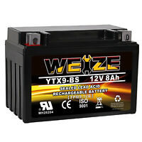 YTX9-BS Battery Rechargeable For ATV Husaberg Watercraft Jet Ski's  Snowmobiles